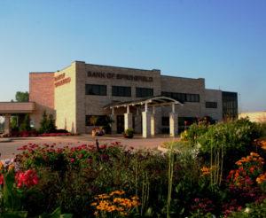 Bank of Springfield Construction-MMLP-glass-full-building