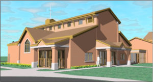 Chatham-Presbyterian-Church Architecture-MMLP-Rendering